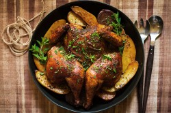 Smoked Paprika and Oregano Roast Chicken