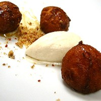 Ricotta Sweet Potato Beignets